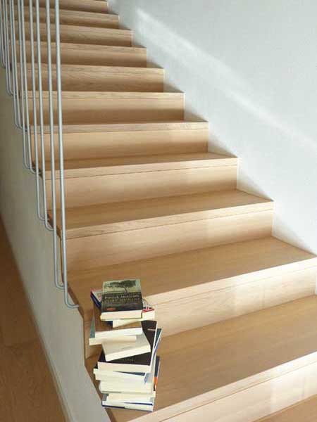 rivestimenti scale interne in legno