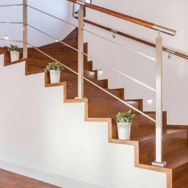 scale a giorno in legno
