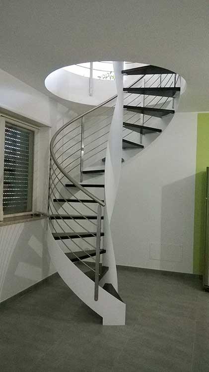 scale elicoidali per interni